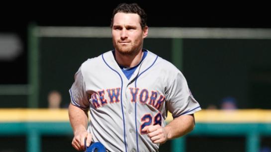The New York Mets' infielder Daniel Murphy