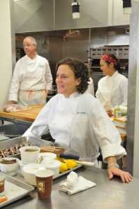 Chefs Traci des Jardins & Gary Danko, Photo by Michael Grassia via Wikimedia Commons, CC BY 2.0
